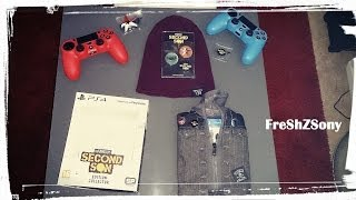 Unboxing Pack Collector Infamous Second Son PS4 FreShZSony