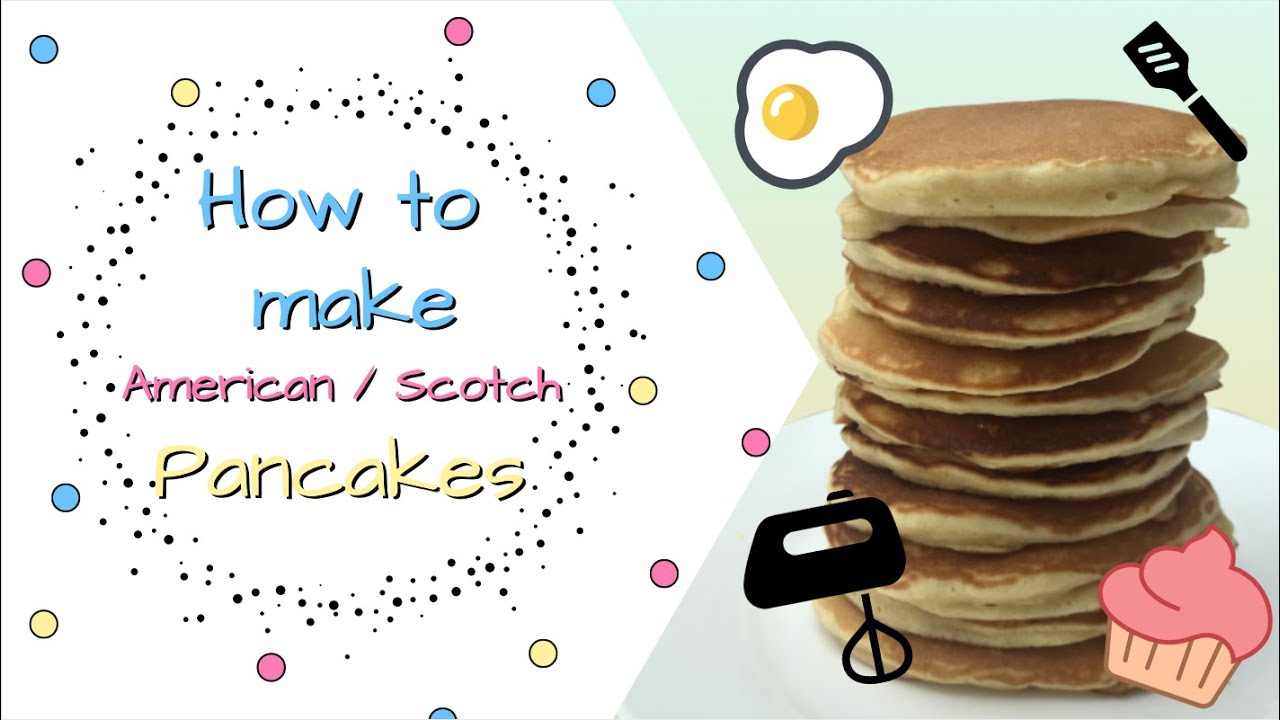 Easy American Pancake Recipe How To Make Pancakes Kids Can Cook Video Bakery