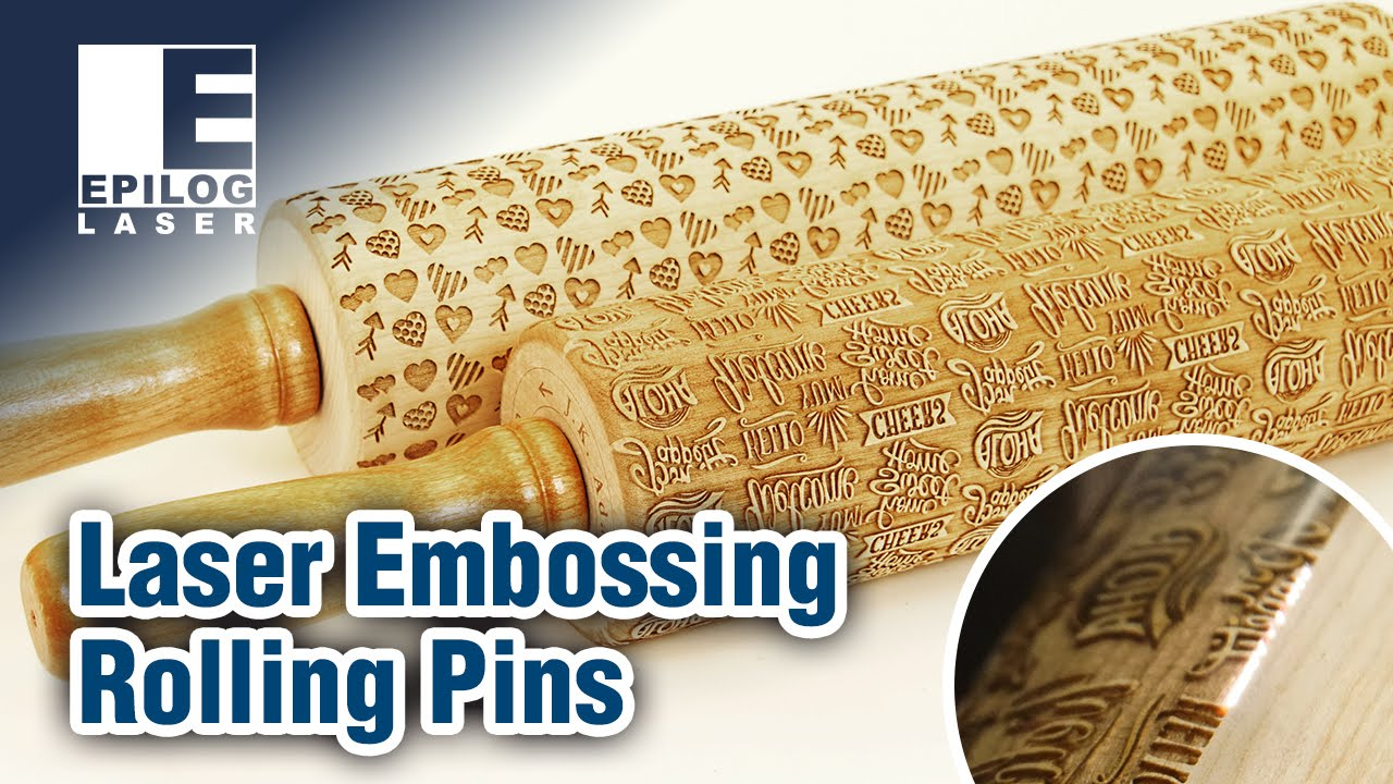 How to Laser Engrave an Embossing Rolling Pin