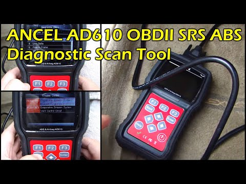 ANCEL AD610 OBD2 ABS SRS Diagnostic Scan Tool