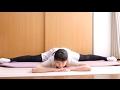 横の開脚のコツ(体の硬い人〜180度開くまで)Ballet Splits