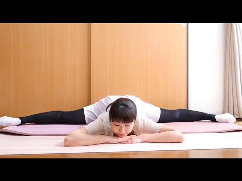 横開脚のコツ(体の硬い人〜180度開くまで)Ballet Splits