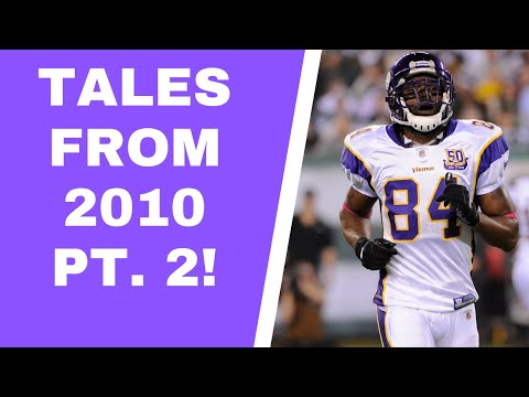 Minnesota Vikings 2010: 'Pull Your 84 Jerseys Out.'