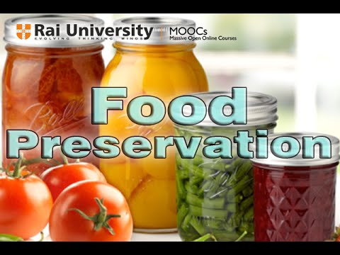 Food Preservation Methods Of Maximization Of Nutritional Benefit