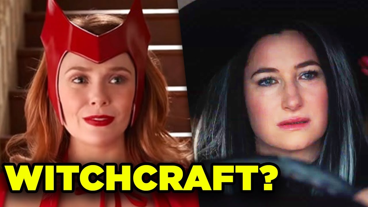 WandaVision Plot Theory! Trailer Clues & Marvel Darkhold Explained!