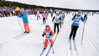 Югорский лыжный марафон в числе самых массовых в стране
