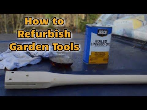 Refurbishing Garden Tools