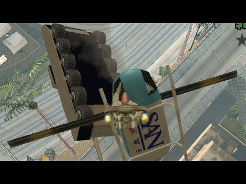 Баги и пасхалки в игре Gta San Andreas