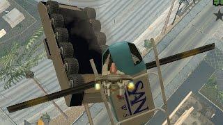 GTA San Andreas - Свободная игра с читами