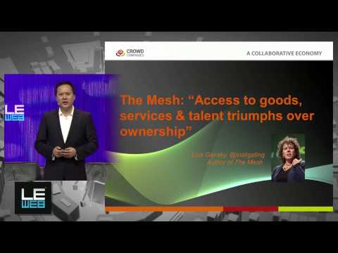 Jeremiah Owyang, Crowd Companies - LeWeb'13 Paris - The Next 10 Years - Plenary1