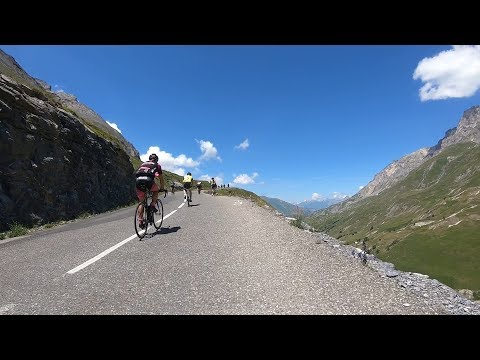 Riding the 2018 Marmotte Alpes