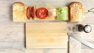 BLT|食材をはさむ順番|食パンで作る基本のサンドイッチ講座|#パン食系女子