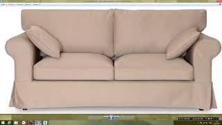 3Ds MAX. Моделирование и визуализация дивана: базовые формы, часть 2. Видео уроки с нуля.