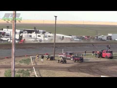 URSS Sprint Car Heats Wakeeney Speedway 5 25 14