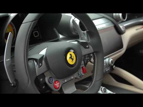 """フェラーリ新型GTC4ルッソを試乗──""""ライバルはレンジローバー""""の理由インテリア篇"""