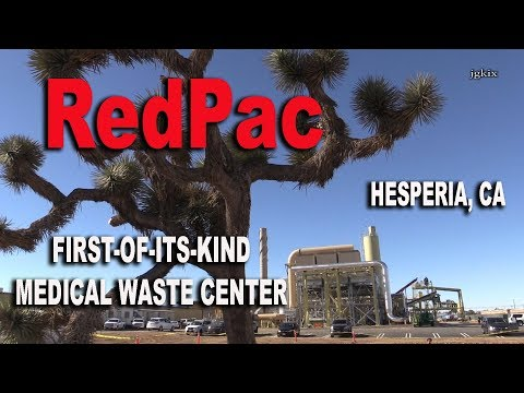 First Of Its Kind Medical Waste Center In Hesperia Ca