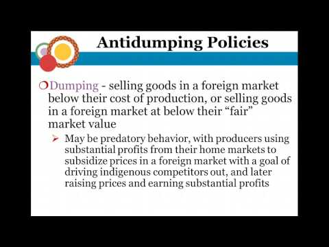 Political Economy of International Trade