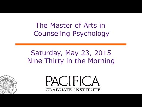 The Master of Arts in Counseling Psychology