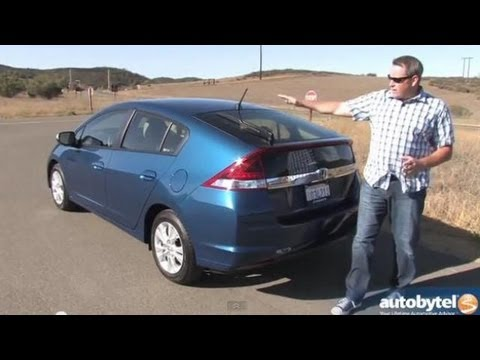 Cheapest Hybrid On The Market   2013 Honda Insight EX Test Drive U0026 Hybrid  Car Video Review
