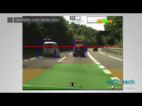 Real-time vehicle detection and lane detection for ADAS