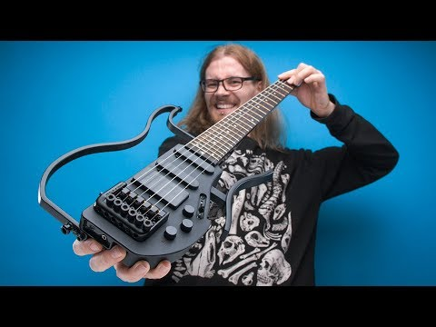 Most Compact Headless Electric Guitar | LOOTd Unboxing