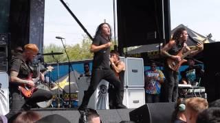Born of Osiris - M∆CHINE Live @ Mayhem Festival 2013 Phoenix AZ