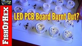 Sb Reef Light PCB Board Burn Out Now What? | 200 Gallon Frag Tank