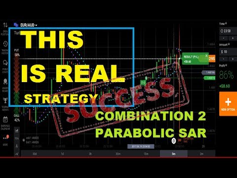 THIS IS REAL - combines 2 parabolic SAR - VERY ACCURATE || iq option strategy