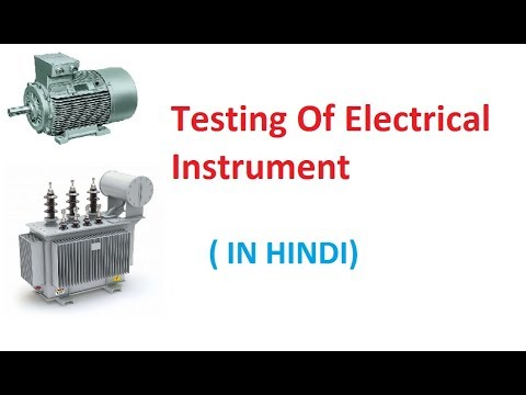 DC Resistance Measurement Of Transformer And Motor (IN HINDI) Testing #01