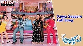 Sayya Sayyare Full Song ll Naa Alludu ll Jr.Ntr, Shreya Sharan,Genelia