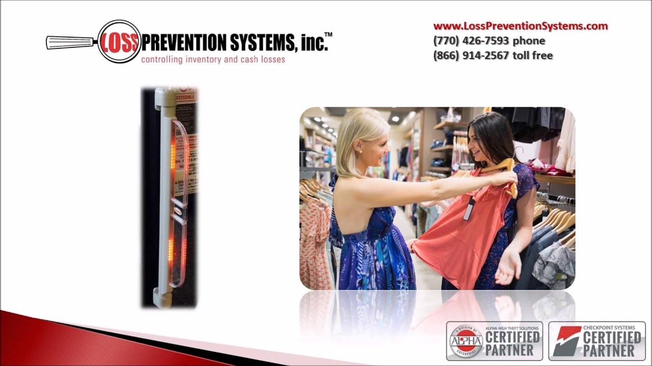 Checkpoint Systems N10 Doorframe Mounted EAS System- Loss Prevention Systems