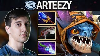 EG.ARTEEZY PROVES WHY HE IS RANK 3 MMR WITH SLARK - DOTA 2 7.23E GAMEPLAY