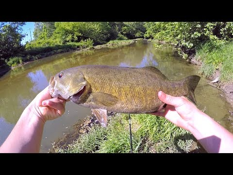 Fishing For Spawning Eagle Creek Smallmouth Bass