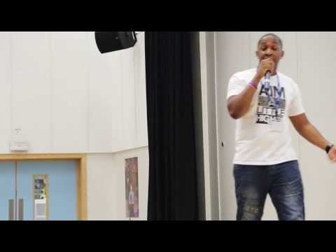 Motivational Youth Speaker Kamal Hyman