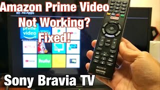 Sony Bravia TV: Amazon Prime Video Not Working? (Several Solutions) screenshot 3