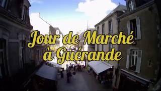 Jour de marché à Guérande