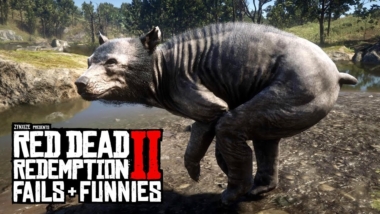 Red Dead Redemption 2 - Fails & Funnies #121 thumbnail