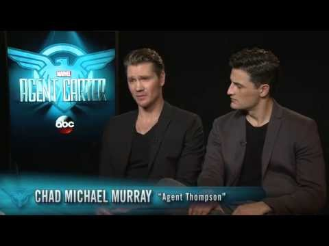 Marvel's Agent Carter  Chad Michael Murray & Enver Gjokaj