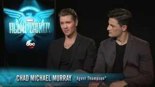 Marvel's Agent Carter - Chad Michael Murray & Enver Gjokaj Interview