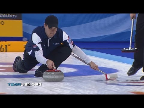 U.S. Men's Curling Team Sweeping to Sochi