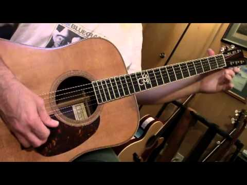 Bluegrass Guitar Lesson 1 -- G, C and D - YouTube
