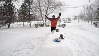 Snow Storm Beer Pong 2019