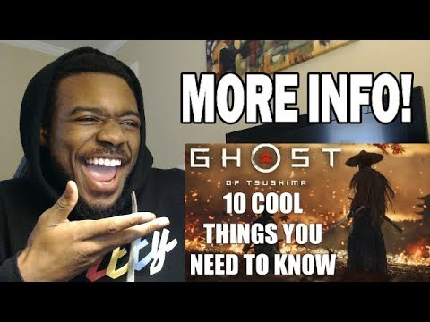 Ghost Of Tsushima   10 COOL Things You Need To Know! REACTION & REVIEW