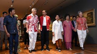 Presiden Jokowi dan Ibu Iriana Hadiri Parade Nasional Singapura, 9 Agustus 2019