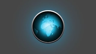 Adobe Illustrator Tutorial | 3D Logo Design (Globe Map)