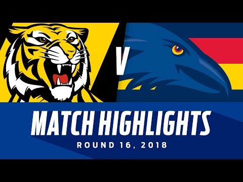 Richmond v Adelaide Highlights | Round 16, 2018 | AFL