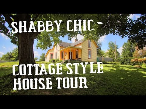 Shabby Chic - Country Living Cottage Style house Tour - house for sale Historic town in Kentucky