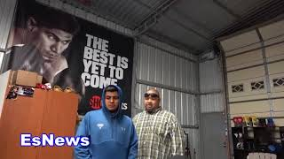 big boy vs frank the cook who would you put your money on? EsNews Boxing