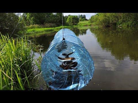 Ловушка для рыбы-Верша Поймал вьюнов