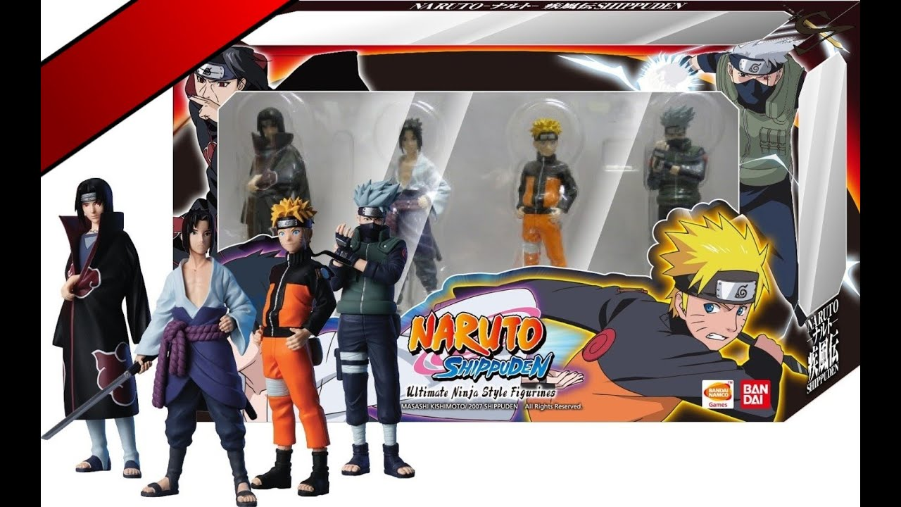 collection figurine naruto fr youtube. Black Bedroom Furniture Sets. Home Design Ideas